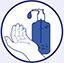 Gel nettoyer les mains